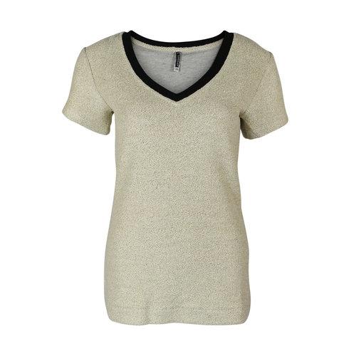 Longlady Longlady Shirt Tinie Jog Goud