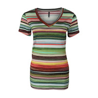 Longlady Shirt Tinie Streep Lurex