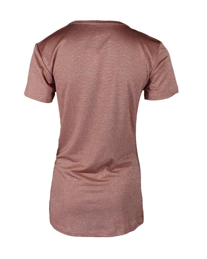 Longlady Shirt Tirza Oudroze Sparkle