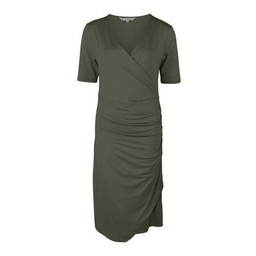 Longlady Longlady Dress Esther Khaki