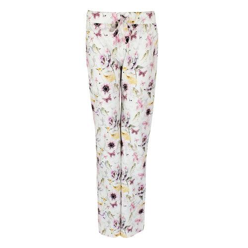 Longlady Longlady Pajama pants Paulien Pink Flower