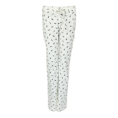 Longlady Longlady Pajama pants Paulien Offwhite Feather