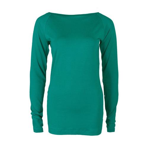 Longlady Longlady Shirt Theodora Emerald