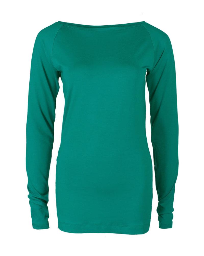 Longlady Shirt Theodora Emerald