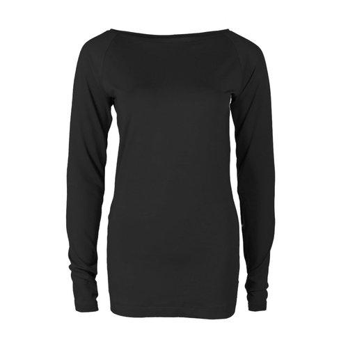 Longlady Longlady Shirt Theodora Black