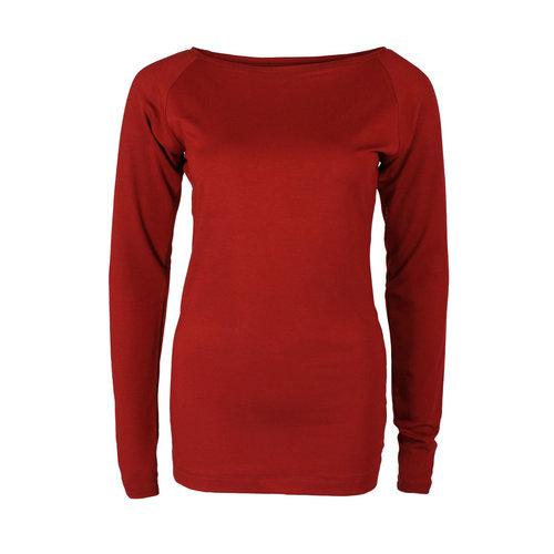 Longlady Longlady Shirt Theodora Red