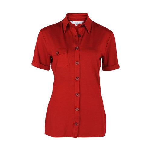 Longlady Longlady Shirt Danie Red