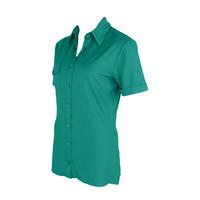 Longlady Shirt Danie Emerald