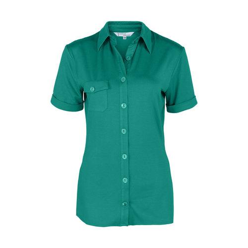 Longlady Longlady Shirt Danie Emerald