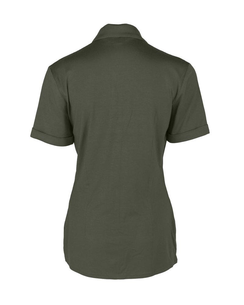 Longlady Shirt Danie Khaki