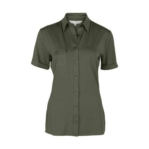 Longlady Longlady Shirt Danie Khaki