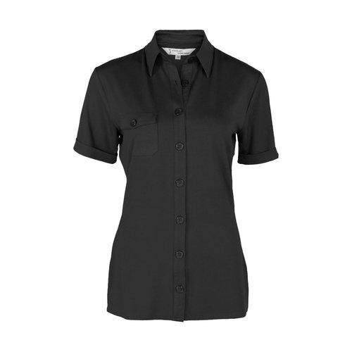 Longlady Longlady Shirt Danie Black