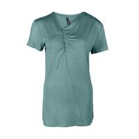 Longlady Shirt Tirza Aqua Sparkle
