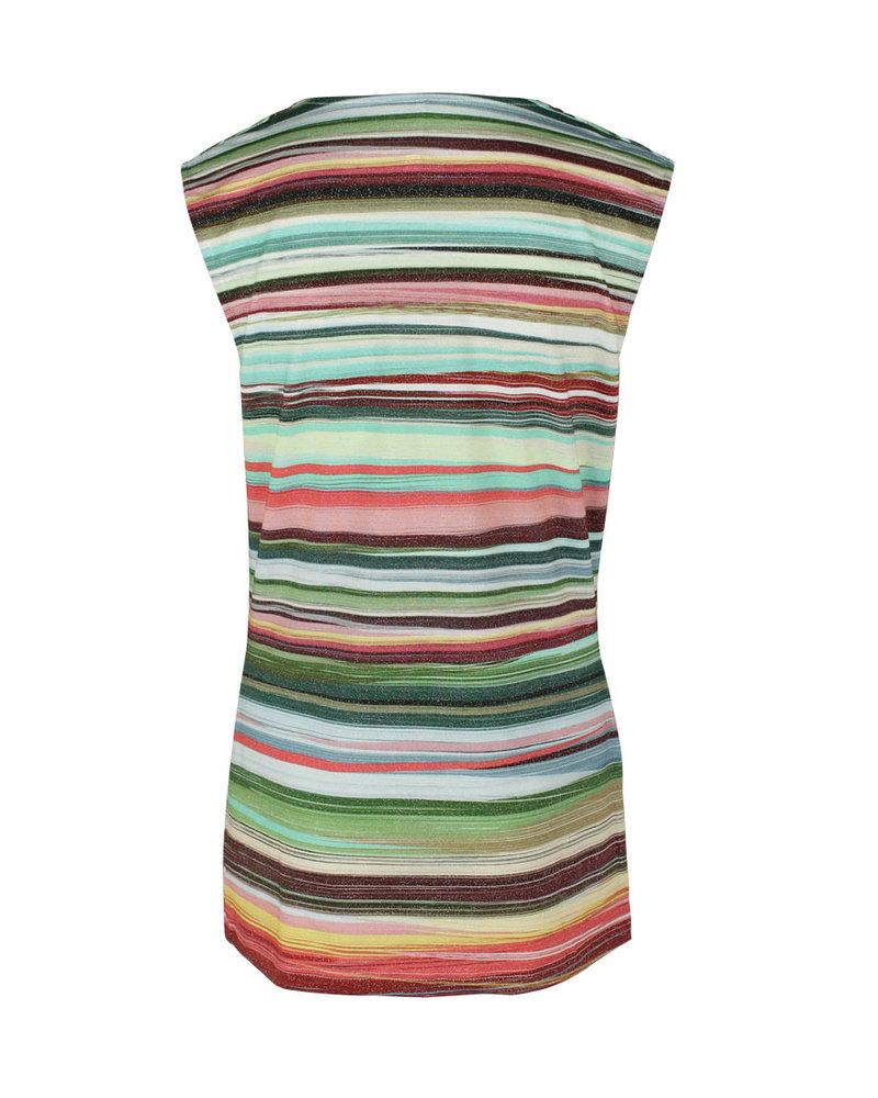 Longlady Shirt Tosha Streep Lurex