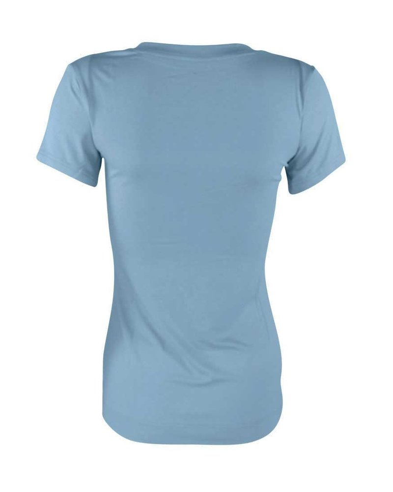 Longlady Shirt Tinka Lichtblauw