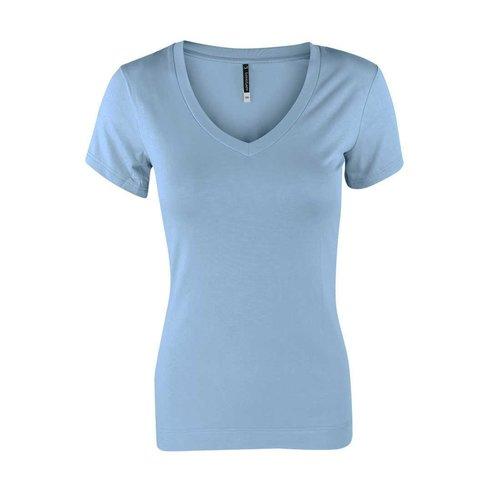 Longlady Longlady Shirt Tinka Lichtblauw