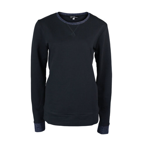Longlady Longlady Sweater Fien Donkerblauw