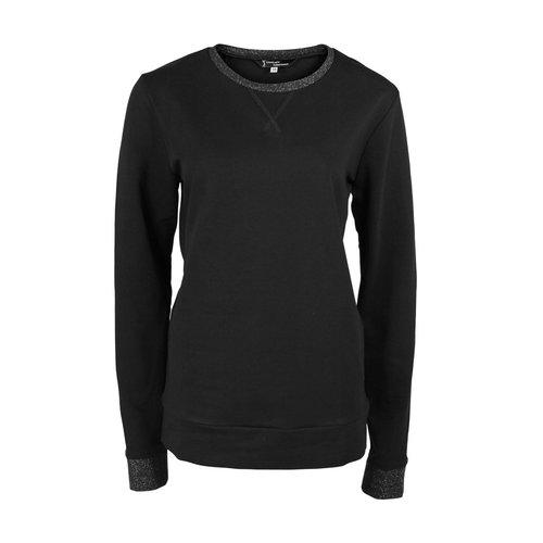 Longlady Longlady Sweater Fien Zwart