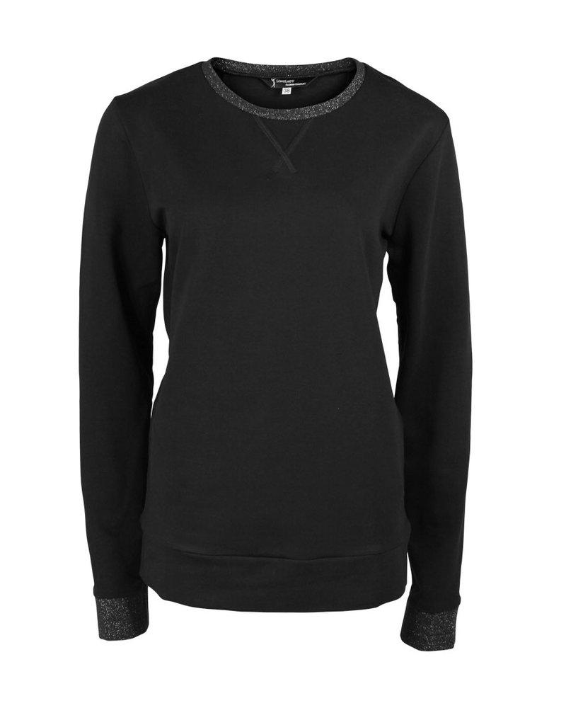 Longlady Sweater Fien Black