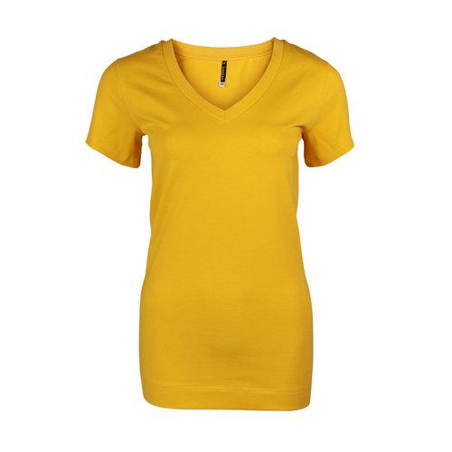 Longlady Longlady Shirt Tinka Geel