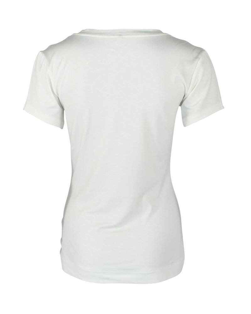 Longlady Shirt Tinie Offwhite Sparkle
