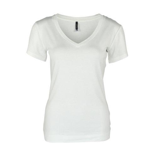 Longlady Longlady Shirt Tinie Offwhite Sparkle