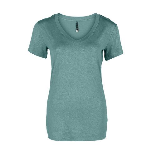 Longlady Longlady Shirt Tinie Aqua Sparkle