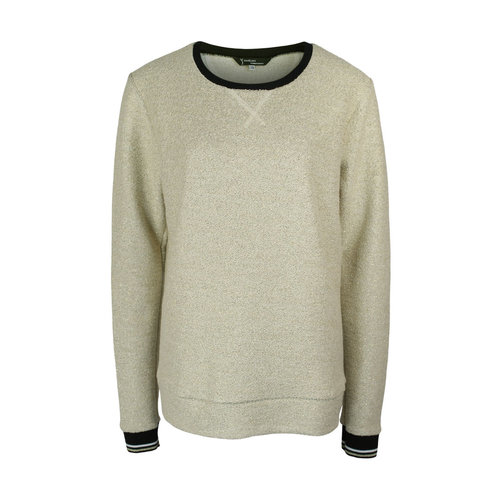 Longlady Longlady Sweater Fien Goud