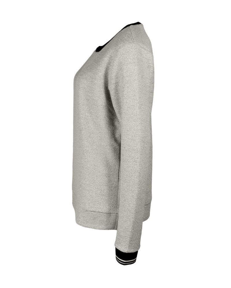 Longlady Sweater Fien Zilver