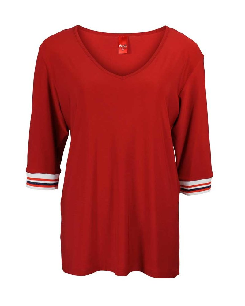 Only-M Shirt Snooze Boord Rosso