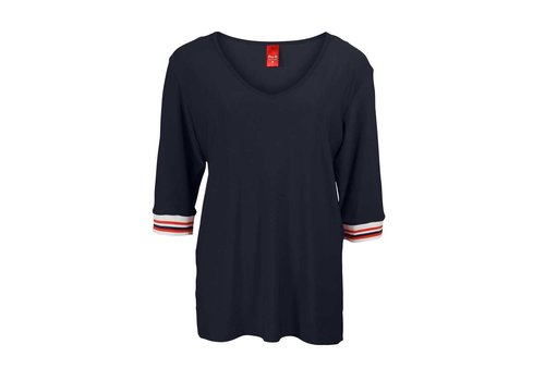 Only-M Only-M Shirt Snooze Boord Navy