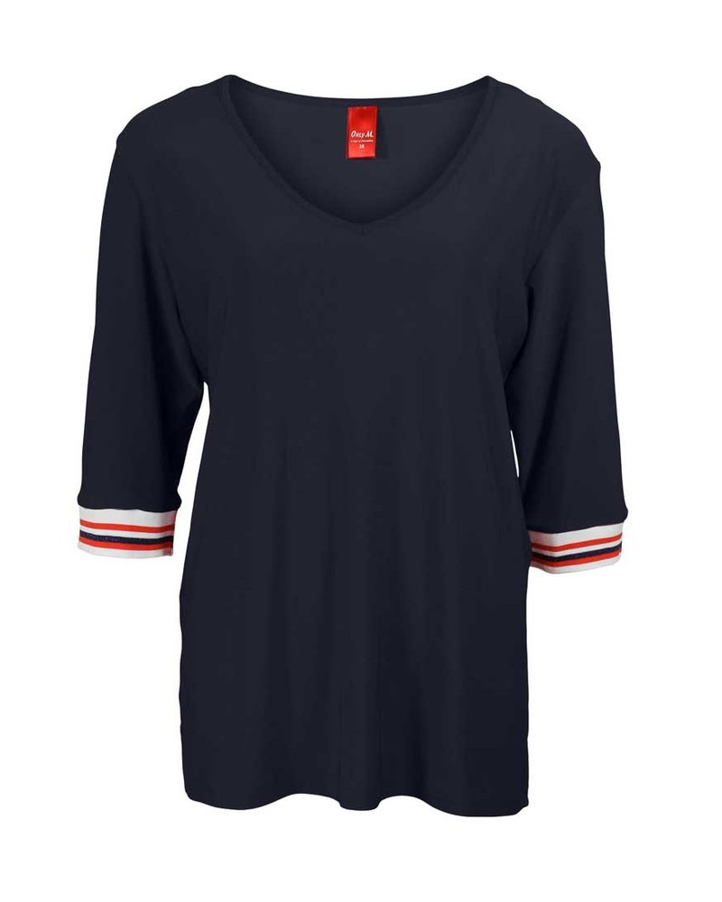 Only-M Shirt Snooze Boord Navy