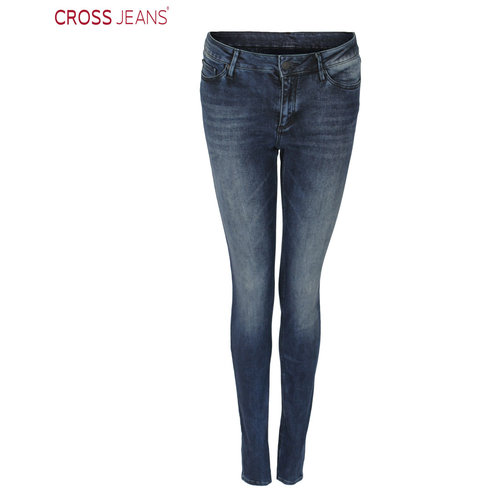 Cross Cross Jeans Alan Dark Blue Washed
