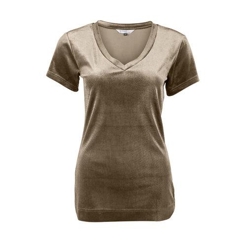 Longlady Longlady Shirt Tani Beige