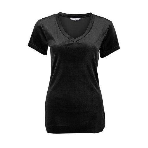 Longlady Longlady Shirt Tani Zwart