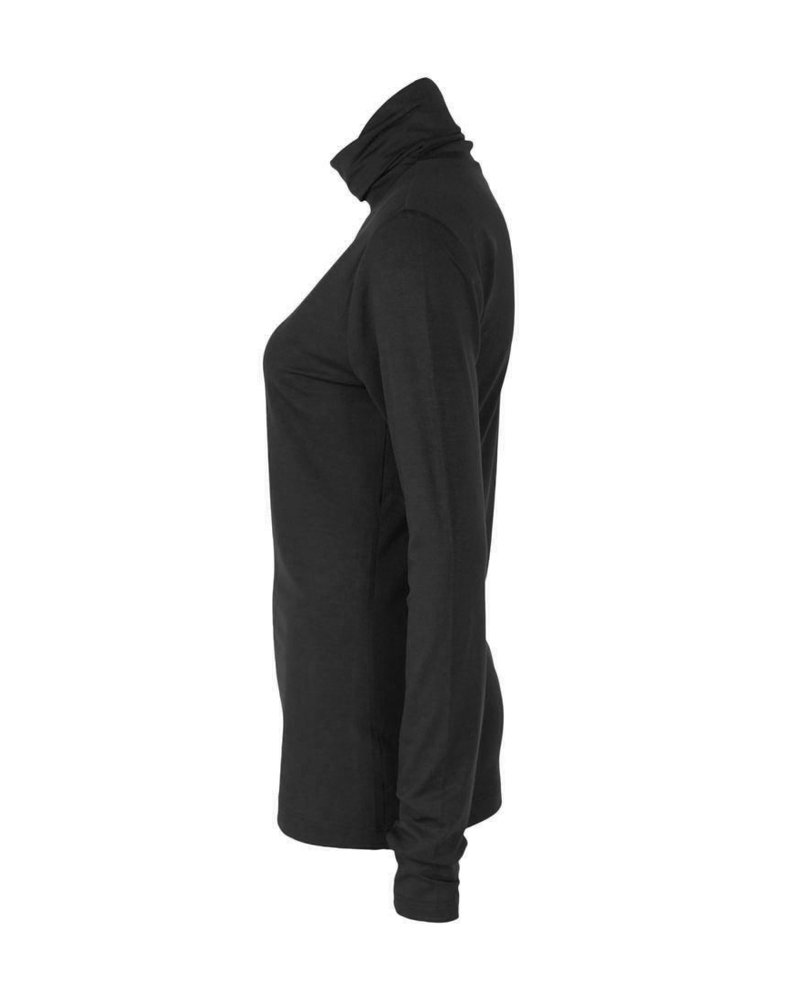 Longlady Shirt Trinca Black