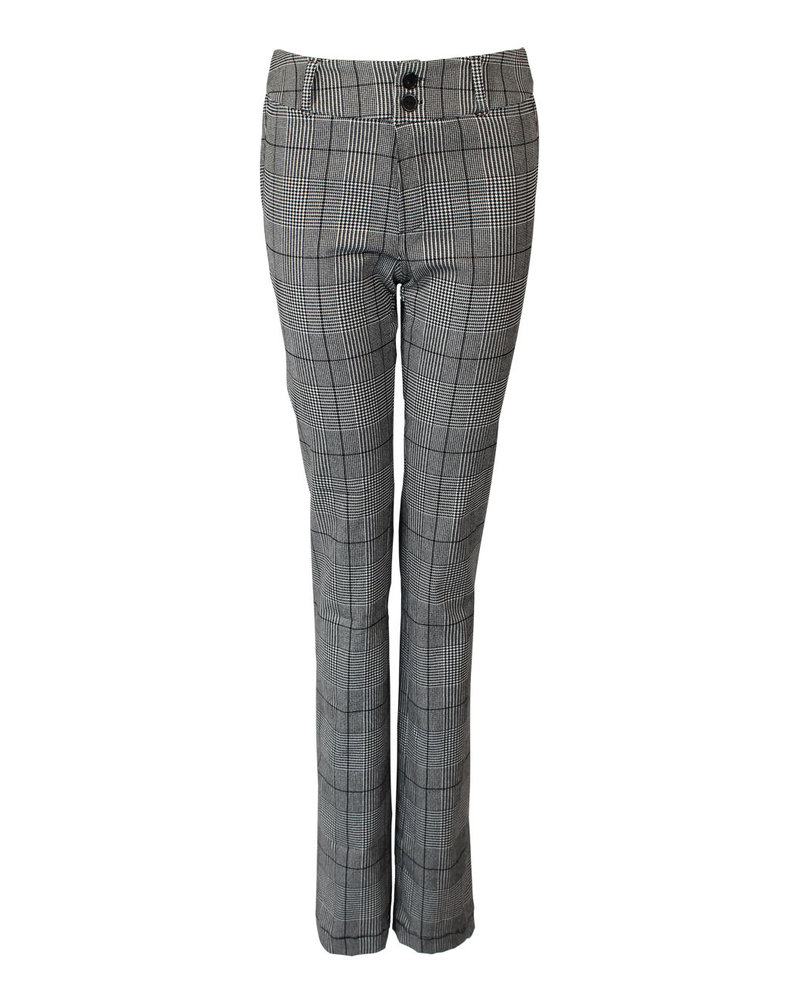 LongLady Trousers Breena Black Checks