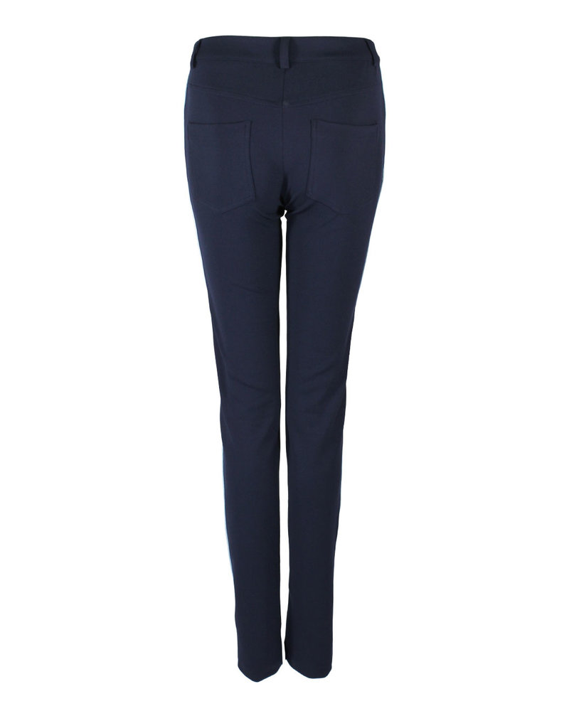 Only-M Trousers Tape Navy