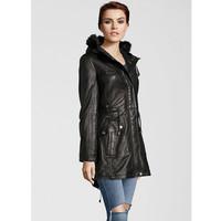 Deercraft Coat Leather Aubery Black