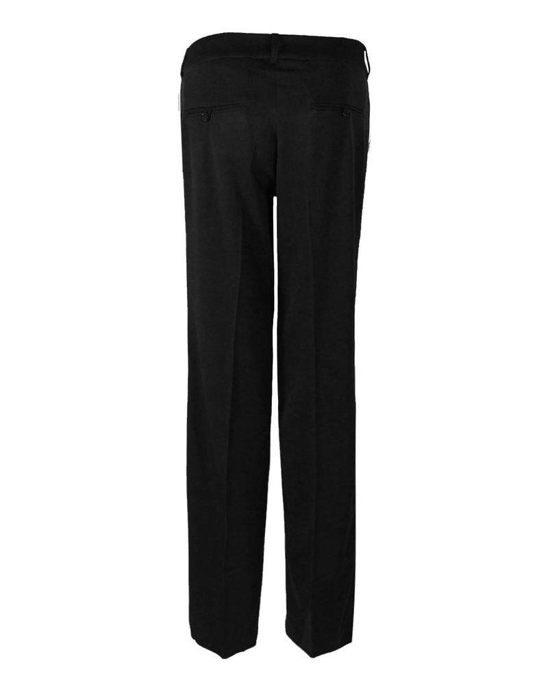 LongLady Trousers Nova Black red stripe