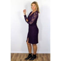 Longlady Dress Joseline Aubergine