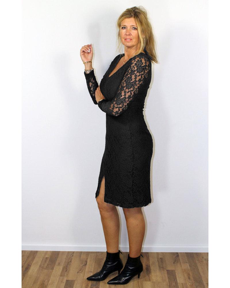 Longlady Dress Joseline Black