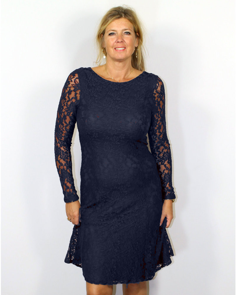 Longlady Dress Josee Darkblue