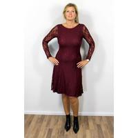 Longlady Dress Josee Bordeaux
