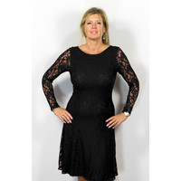 Longlady Dress Josee Black