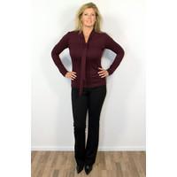 Longlady Shirt Tess Bordeaux