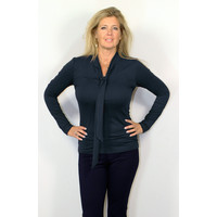 Longlady Shirt Tess Donkerblauw