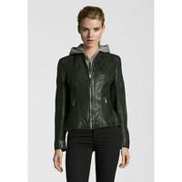 Deercraft Bikerjacket Leather Livy Olive
