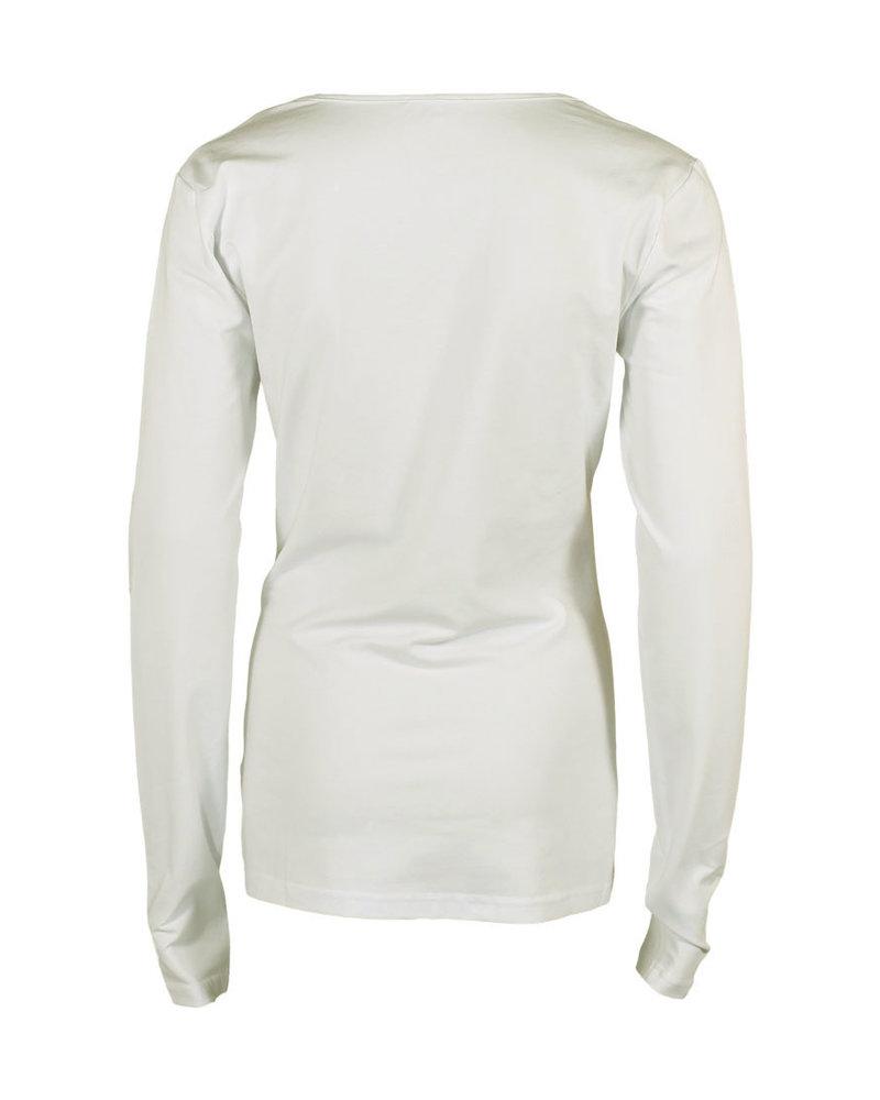 Longlady Shirt Trudy Offwhite