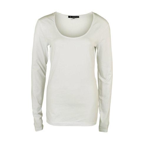 Longlady Longlady Shirt Trudy Offwhite